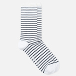 Мужские носки Norse Projects Bjarki B Stripe Kit White фото- 1