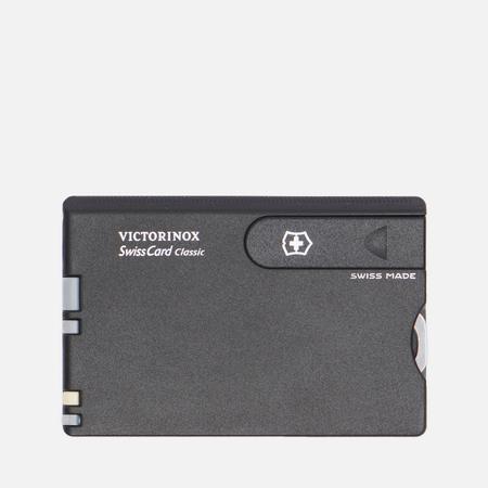 Многофункциональный набор Victorinox Classic, цвет чёрный