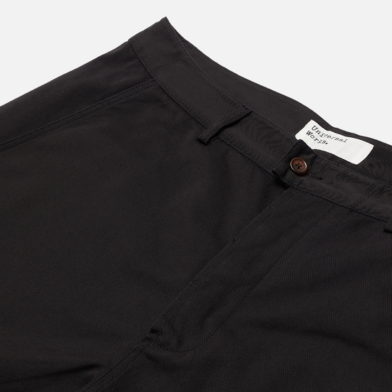 Мужские брюки Universal Works Bakers Twill Black
