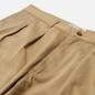Мужские брюки Universal Works Double Pleat Twill Tan фото - 1