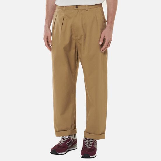 Мужские брюки Universal Works Double Pleat Twill Tan