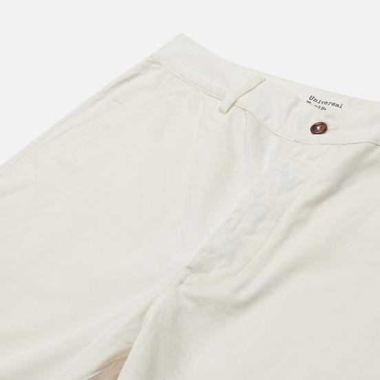 Мужские шорты Universal Works Deck Twill Ecru