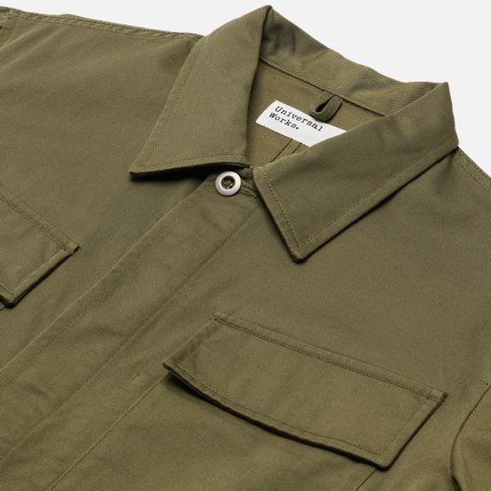 Мужская куртка Universal Works MW Fatigue Twill Light Olive