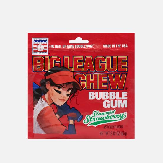 Жевательная резинка Big League Chew Strawberry