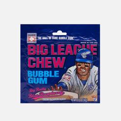 Жевательная резинка Big League Chew Blue Raspberry