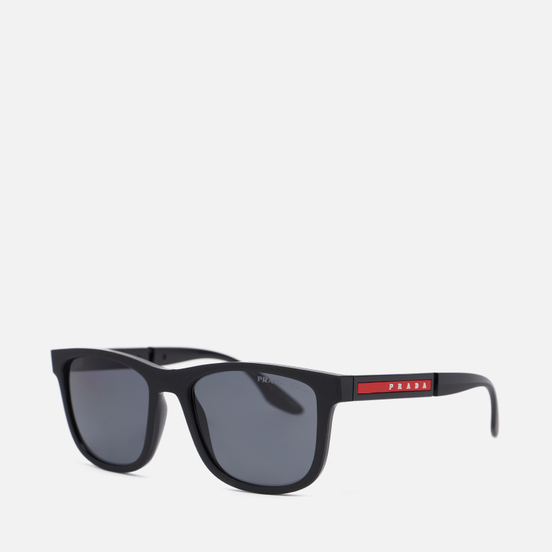 Солнцезащитные очки Prada Linea Rossa 04XS-DG002G-3P Polarized Black Rubber/Black/Polar Dark Grey