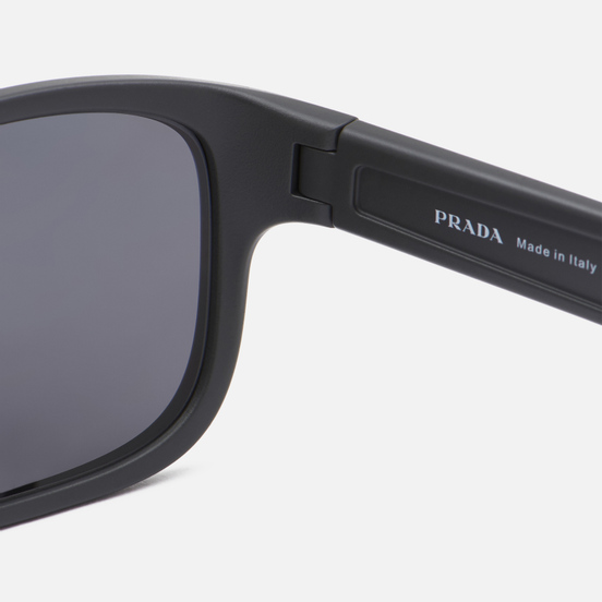 Солнцезащитные очки Prada Linea Rossa 05VS-UFK07H-3P Polarized Grey Rubber/Polar Dark Grey Mirror Silver