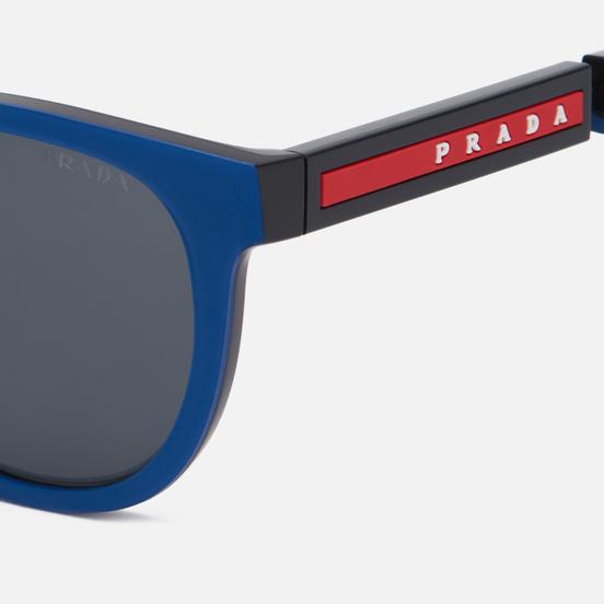 Солнцезащитные очки Prada Linea Rossa 05XS-02S06F-3N Navy Rubber/Black/Dark Grey