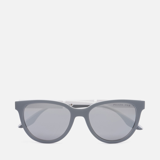 Солнцезащитные очки Prada Linea Rossa 05XS-04S04L-3P Polarized Grey Rubber/White/Polar Grey/Mirror Silver