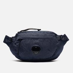 Сумка на пояс C.P. Company Nylon Satin Garment Dyed Ombre Blue