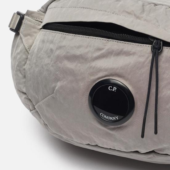 Сумка на пояс C.P. Company Nylon Satin Garment Dyed Quiet Grey
