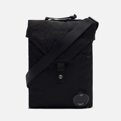 Сумка C.P. Company Nylon Satin Garment Dyed Shoulder Mini Black