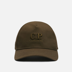 Кепка C.P. Company Gabardine Baseball Classic Logo Ivy Green