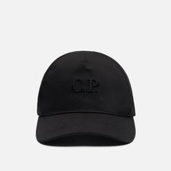 Кепка C.P. Company Gabardine Baseball Classic Logo Black