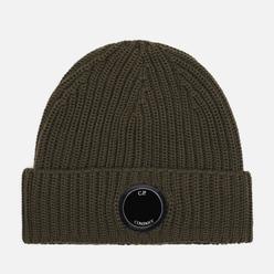 Шапка C.P. Company Extrafine Merino Wool Lens Rosin