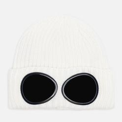 Шапка C.P. Company Extrafine Merino Wool Goggle Gauze White
