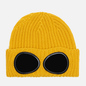 Шапка C.P. Company Extrafine Merino Wool Goggle Mineral Yellow фото - 0