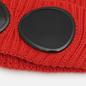 Шапка C.P. Company Extrafine Merino Wool Goggle Pompeian Red фото - 1