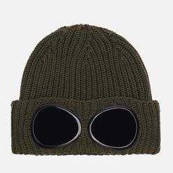 Шапка C.P. Company Extrafine Merino Wool Goggle Rosin