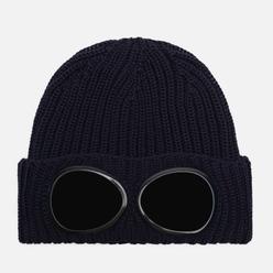 Шапка C.P. Company Extrafine Merino Wool Goggle Total Eclipse