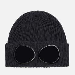 Шапка C.P. Company Extrafine Merino Wool Goggle Dark Fog Grey
