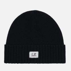 Шапка C.P. Company Lambswool Logo Black