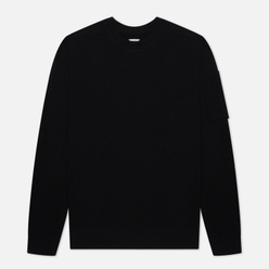 Мужской свитер C.P. Company Extrafine Merino Wool Pocket Lens Black