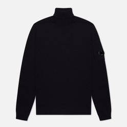 Мужской свитер C.P. Company Turtle Neck Merino Wool Total Eclipse