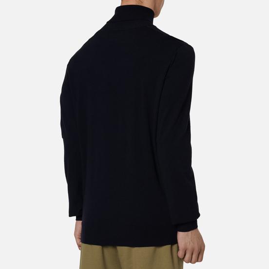 Мужской свитер C.P. Company Turtle Neck Merino Wool Total Eclipse
