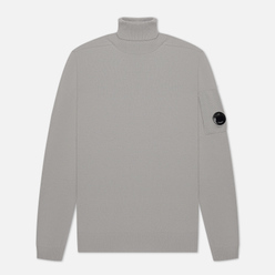 Мужской свитер C.P. Company Turtle Neck Merino Wool Quiet Grey