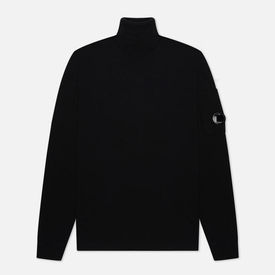 Мужской свитер C.P. Company Turtle Neck Merino Wool Black