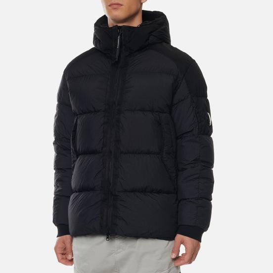 Мужская куртка C.P. Company Taylon L Mixed Hodded Lens Black