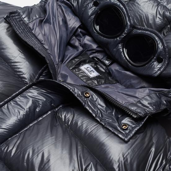 Мужской пуховик C.P. Company D.D. Shell Hooded Lens Ombre Blue