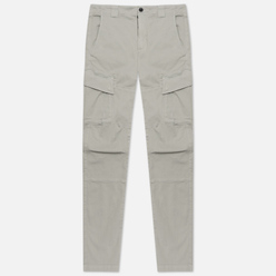 Мужские брюки C.P. Company Cargo Garment Dyed Stretch Sateen Ergonomic Fit Quiet Grey