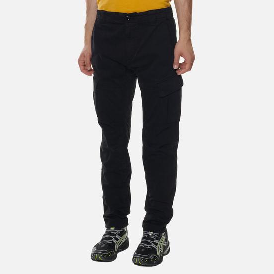 Мужские брюки C.P. Company Cargo Garment Dyed Stretch Sateen Ergonomic Fit Black