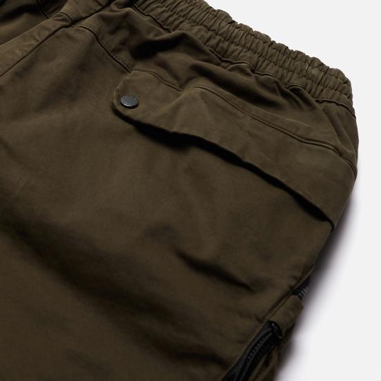 Мужские брюки C.P. Company Cargo Garment Dyed Stretch Sateen Ivy Green