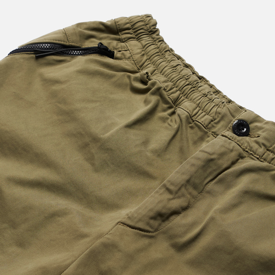 Мужские брюки C.P. Company Cargo Garment Dyed Stretch Sateen Martini Olive