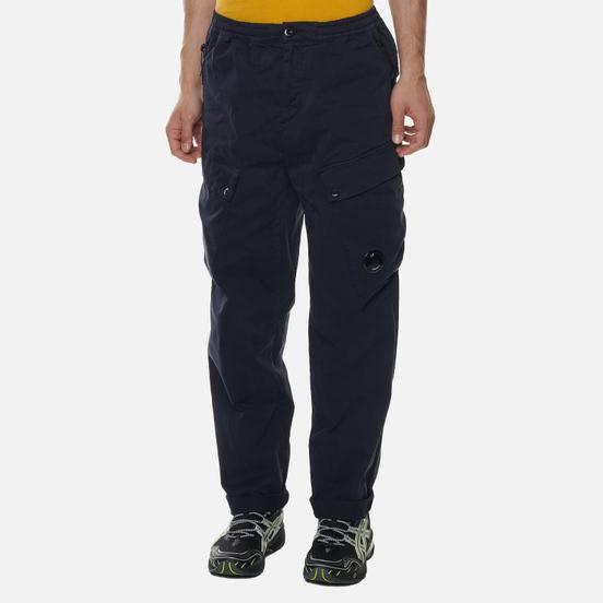 Мужские брюки C.P. Company Cargo Garment Dyed Stretch Sateen Total Eclipse
