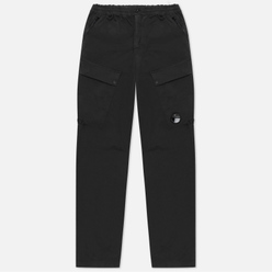 Мужские брюки C.P. Company Cargo Garment Dyed Stretch Sateen Black