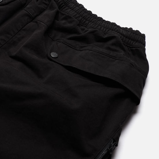 Мужские брюки C.P. Company Cargo Garment Dyed Stretch Sateen Black