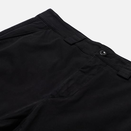 Мужские брюки C.P. Company Cargo Lens Pocket Garment Dyed Stretch Sateen Ergonomic Fit Black
