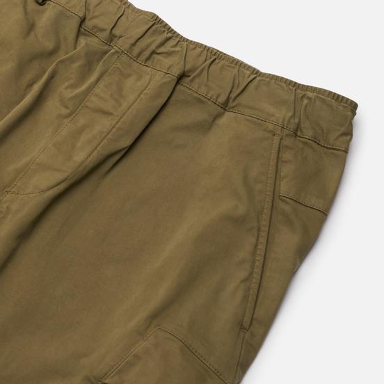 Мужские брюки C.P. Company Lens Pocket Garment Dyed Stretch Sateen Martini Olive