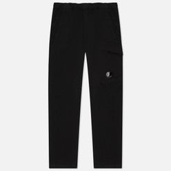 Мужские брюки C.P. Company Lens Pocket Garment Dyed Stretch Sateen Black