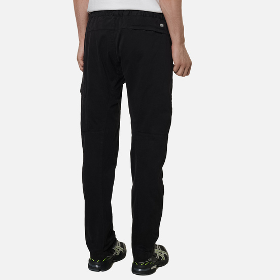 Мужские брюки C.P. Company Lens Pocket Garment Dyed Stretch Sateen Black