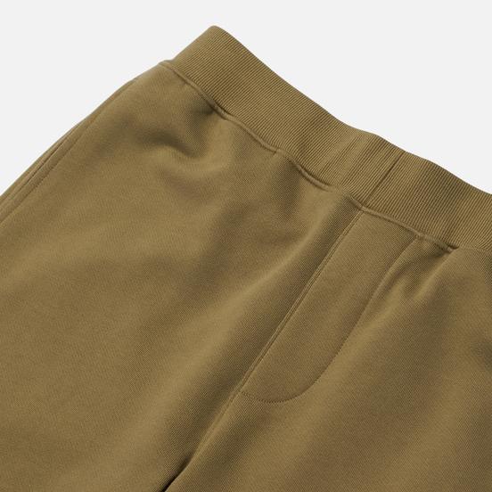 Мужские брюки C.P. Company Lens Pocket Diagonal Raised Fleece Martini Olive