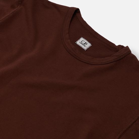 Мужская толстовка C.P. Company Pocket Lens Garment Dyed Light Feece Cinnamon