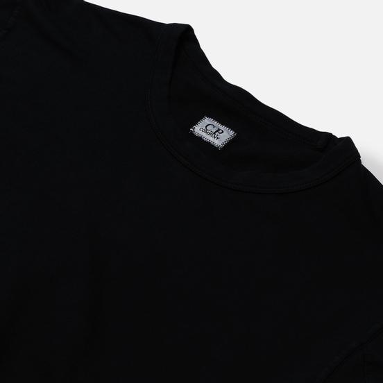 Мужская толстовка C.P. Company Pocket Lens Garment Dyed Light Feece Black