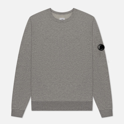 Мужская толстовка C.P. Company Pocket Lens Garment Dyed Light Feece Grey Melange