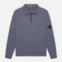 Мужская толстовка C.P. Company Pocket Lens Half-Zip Light Feece Ombre Blue