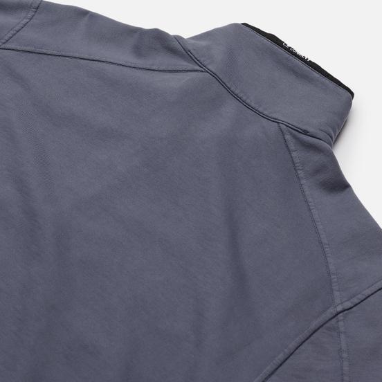 Мужская толстовка C.P. Company Pocket Lens Half-Zip Light Feece Ombre Blue